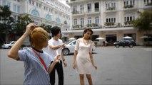 ホスト!ベトナム 旅行2日目,さすがモデル!美女とカフェとホーチミン,ベンタイン市場