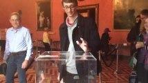 Les images des premiers Français votant Outre-Atlantique
