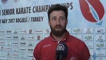 Avrupa Karate Şampiyonası - Enes Erkan, Üçüncü Kez Avrupa Ikincisi Oldu