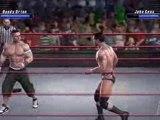 Smackdown vs raw 2008 (RKO)Randy Orton vs John Cena