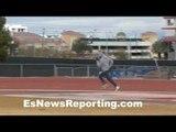 Thomas Dulorme putting in work with Alex Ariza - EsNews Boxing
