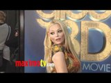 """Charlotte Ross Attends """"GLEE THE 3D CONCERT MOVIE"""" Premiere"""