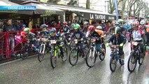 Digne-les-Bains : la Street Race sous la pluie ne fait pas peur aux jeunes cyclistes