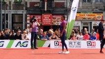 Nafi Thiam 2e du saut en hauteur à Liège