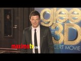 """RIP Cory Monteith - """"GLEE THE 3D CONCERT MOVIE"""" Premiere"""