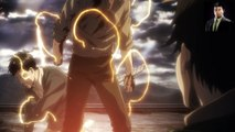 Reiner transforms into Armored Titan - L'Attaque des Titans - Attack on Titan - Shingeki no Kyojin - Season 2 - 「進撃の巨人