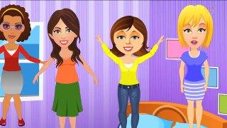 Five Strict Moms Nursery Rhyme _ POPULAR NURSERY