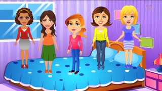 Five Strict Moms Nursery Rhyme _ POPULAR NURSERY RHYME FOR
