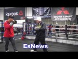 can you guess how many people named jose lopez live in la area?  EsNews Boxing