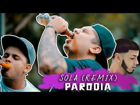 Anuel AA - Sola Remix ft. ft. Farruko, Daddy Yankee, Wisin (PARODIA/Parody) ft. EL DESCORCHE