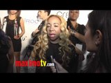 "Tameka ""Tiny"" Cottle Interview at 2011 BET Awards ""Creme of the Crop"""