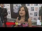 """Bailee Madison Interview at """"Don't Be Afraid of the Dark"""" Premiere"""