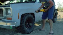 Muscle Truck vs. Baja Bug! 1974 Chevy C10 Battles Freds Volkswagen Baja Bug - Roadkill Ep