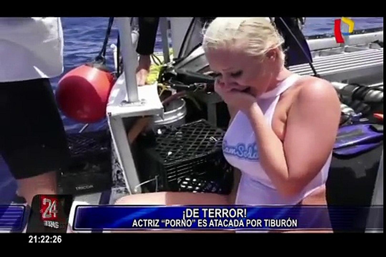 Actriz Porno Es Mordida Por Tiburon actriz porno fue atacada por tiburón durante grabación de un comercial