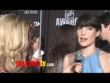 Cobie Smulders Interview at 2011 NHL Awards Red Carpet Arrivals