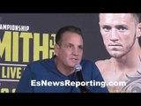 Team Smith Jr on Joe Smith Jr vs Hopkins - EsNews Boxing