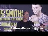 Bernard Hopkins vs Joe Smith Jr Final Press Conference - EsNews Boxing
