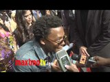 Lupe Fiasco and Trey Songz at 2011 MTV MOVIE AWARDS Red Carpet