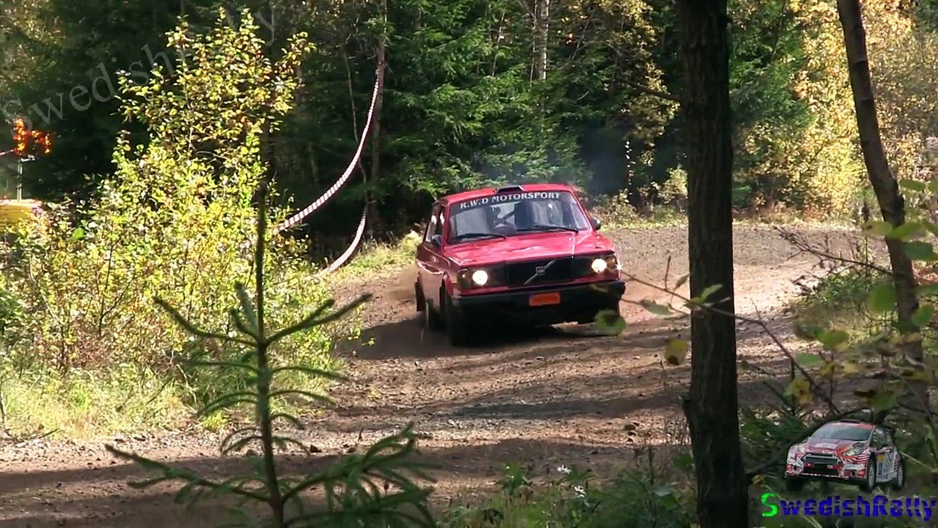 Hedin Bils Rallysprint 2016 | Action, avåkning & kriser.