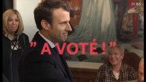 Second tour : Macron et Le Pen ont voté