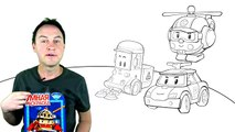 Robocar Poli Toy Cars Collection_ Rescue Team_ Learn