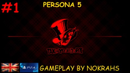 """Persona 5"" ""PS4"" - ""Gameplay"" (1)"