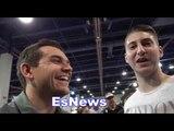 UK Boxing Fans talks wilder vs joshua brook vs spence EsNews Boxing
