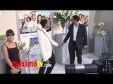 "POOCH HALL and DERAY DAVIS at ""Jumping The Broom"" LA Premiere"