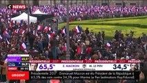 Présidentielle 2017 : Emmanuel Macron hué par les électeurs du FN à l'annonce des résultats