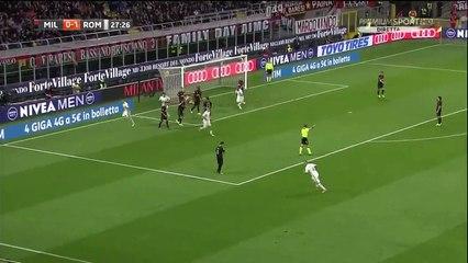 Edin Dzeko second Goal HD - AC Milan 0 - 2 AS Roma - 07.05.2017 (Full Replay)