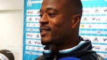 OM - Nice (2-1) : La réaction de Patrice Evra