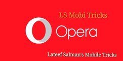How to use opera mini handler for free internet on any android phone