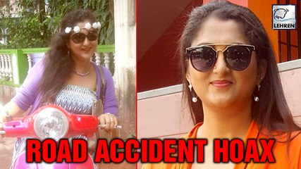 Kannada Actress Rekha Krishnappa's Accident News Is FAKE