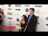 """NATHAN FILLION and MIKAELA HOOVER at """"SUPER"""" Los Angeles Premiere"""