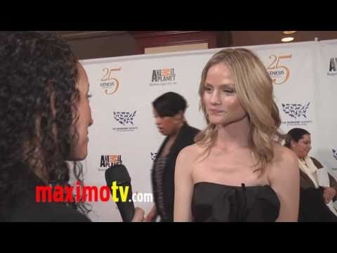 LINDSAY PULSIPHER Interview at 25th Annual GENESIS AWARDS