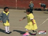 This Little Girl Showing Off Her New Sports Blade To Friends Is So Cute It Hurts