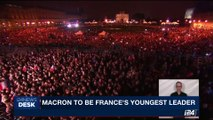 i24NEWS DESK | Macron to be France's youngest leader | Monday, May 8th  2017