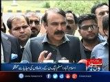 PML-N leaders media talk in Islamabad