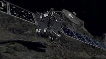 Après douze ans de bons et loyaux services, la sonde Rosetta va s'écrase