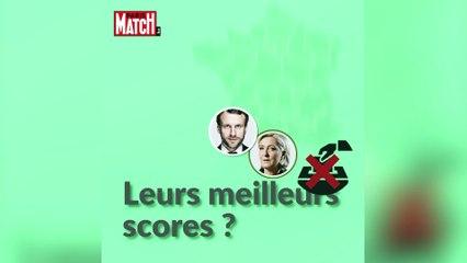 Où on vote Macron / Le Pen ? Où on s'abstient ?