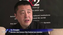 Cannes Intnese director Jia Zhangke