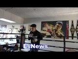 adam lopez on danny garcia vs keith thurman EsNews Boxing