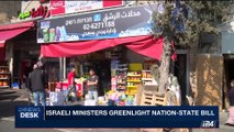 i24NEWS DESK | Israeli ministers greeenlight nation-state bill | Monday, May 8th 2017