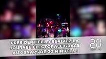 Revivez la journée électorale grâce aux Snaps de 20 Minutes !