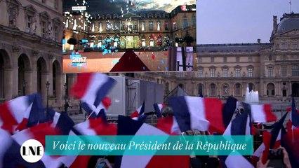 Emmanuel Macron en marche vers la Pyramide - Reportage - La Nouvelle Edition 08/05/2017