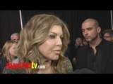 FERGIE and The BEP Interview at The Black Eyed Peas Peapod 2011