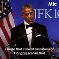 Obama delivered a powerful message to GOP lawmakers on healthcare. [Mic Archives]