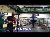 dulorme working at mayweather boxing club EsNews Boxing