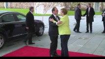 La dernière visite présidentielle de François Hollande à Berlin