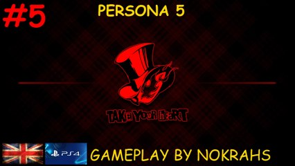 """""""Persona 5"""" """"PS4"""" - """"Gameplay"""" (5)"""